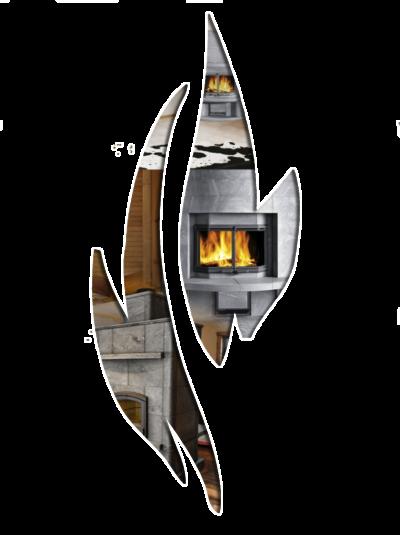 transparent flame
